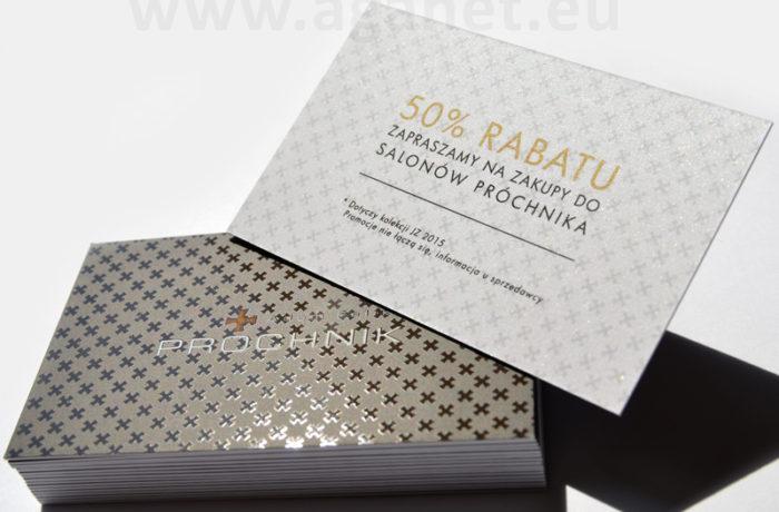 Kaszerowanie na kartach rabatowych